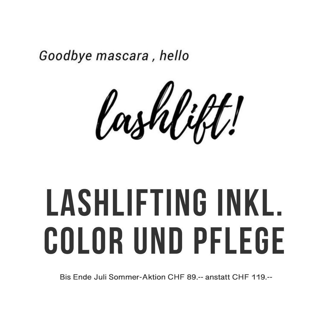 lashlifting inklusiv color and pflege